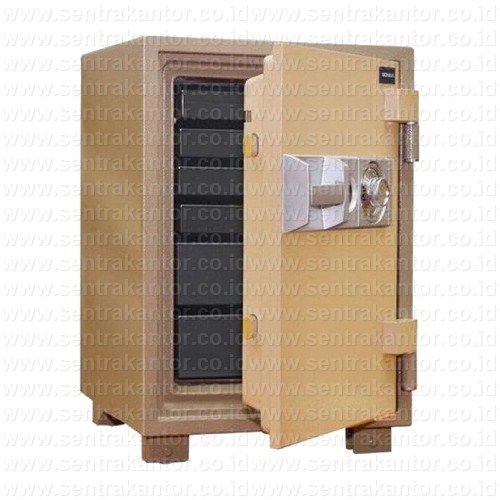 brankas fire proof document safe uchida type bk-90-6