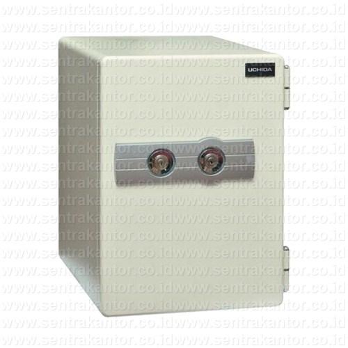 brankas fire proof home safe uchida type hs-50