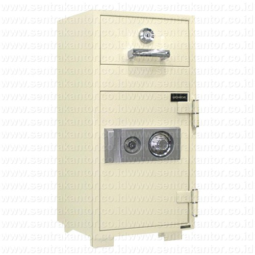 brankas night deposit fire proof safe uchida type nds-3