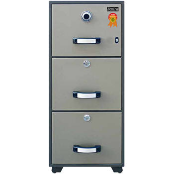 fire resistant filing cabinet sentra type sfb-3d