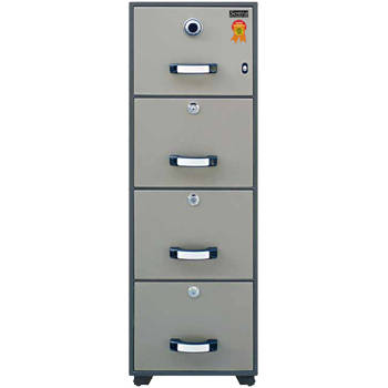 fire resistant filing cabinet sentra type sfb-4d