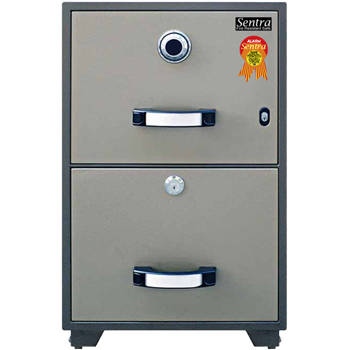 fire resistant filing cabinet sentra type sfb-2 d