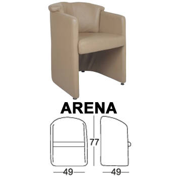 kursi sofa chairman type arena