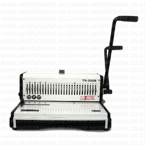 mesin binding (jilid) topas type td 202r